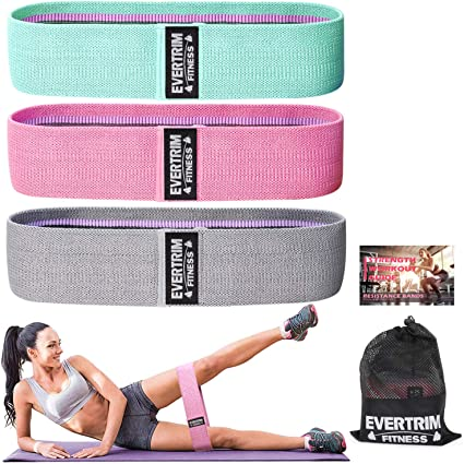 Lot Resistance Loop Exercise Bands for Legs and Butt Exercise Workout Bands