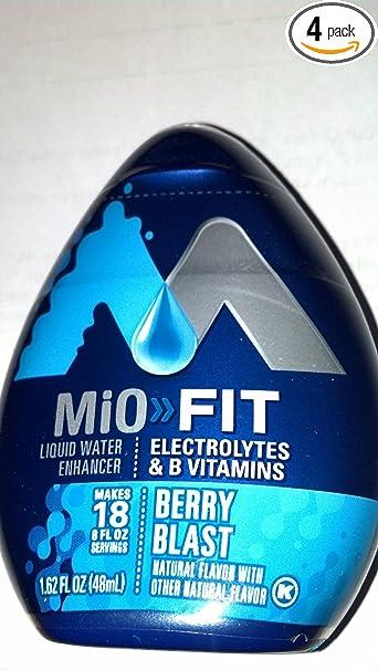 Mio Fit Ingredients