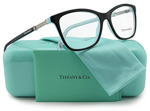 13dc9dc3ad0 Image Unavailable. Image not available for. Color  Tiffany   Co. TF2116B Eyeglasses  Black Striped Blue (8193) ...