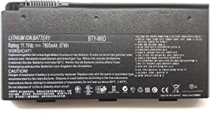 EndlessBattery BTY-M6D Replacement Laptop Battery Compatible with MSI GT660 GT680 GX660 GX60 GT60 T70 GT70 GX680GT660R-494US GT780 GT780R 0NC-007 E6603 E6603-454 Laptop TRHFF(11.1V 87Wh)