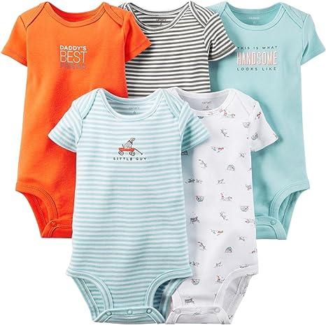 Carters Baby Boys Body (bebé) - azul - 9 meses: Amazon.es: Ropa y accesorios