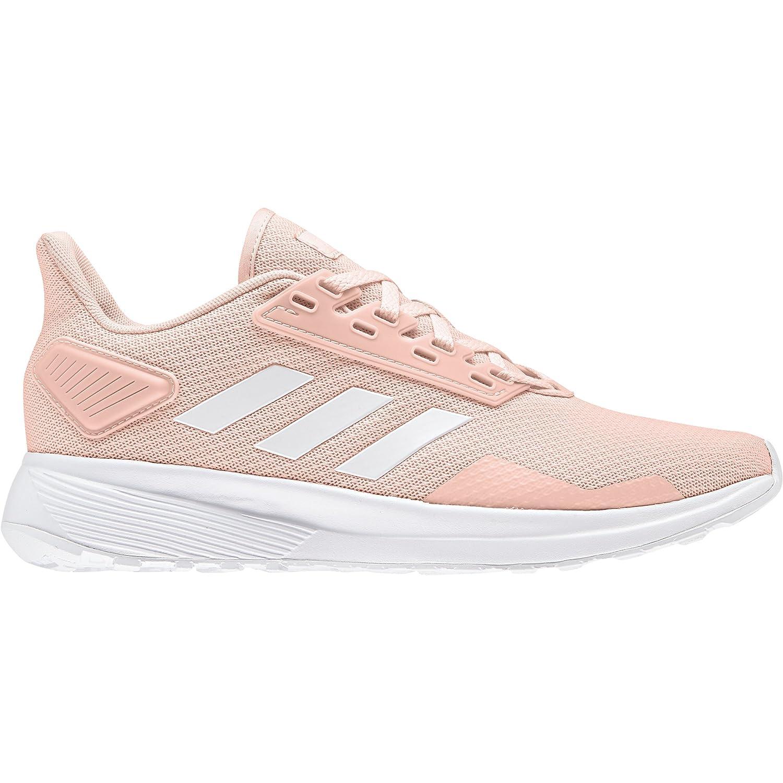 Clear orange Footwear White Grey Four Adidas Women's Duramo 9 Running shoes