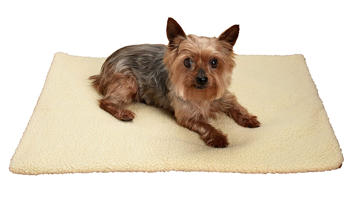 Perfect Life Ideas Self Warming Heating Pad Cushion Mat Bed for Dogs Cats Pets - Enclosed Heat Reflecting Layer Reflects Pets Own Thermal Body Heat - Washable Zippered Cover with Non Slip Bottom