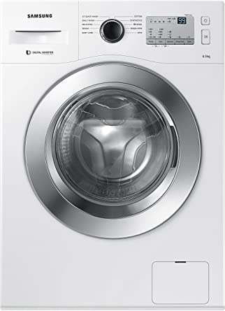 Samsung 6.5 kg Fully-Automatic Front Loading Washing Machine (WW65M226L0A/TL, White)
