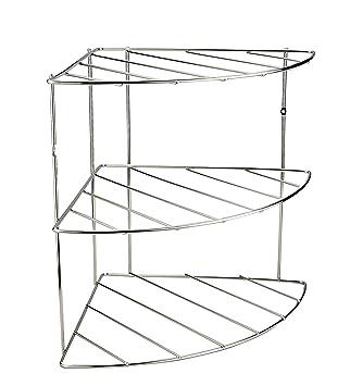 Stainless Steel Corner Shelf Kitchen Metal Kitchen Base Cabinets