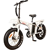 DJ City Bike 500W 48V 13Ah Power Electric Bicycle, UL 2849, Pearl