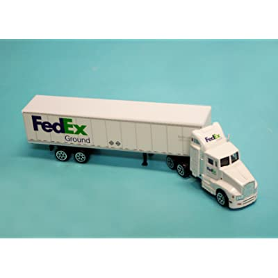 Daron FedEx Ground Tractor Trailer: Toys & Games