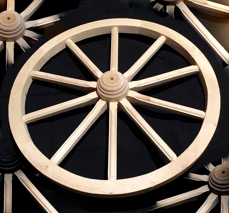 Carro carrello ruota in legno massiccio woodeeworld
