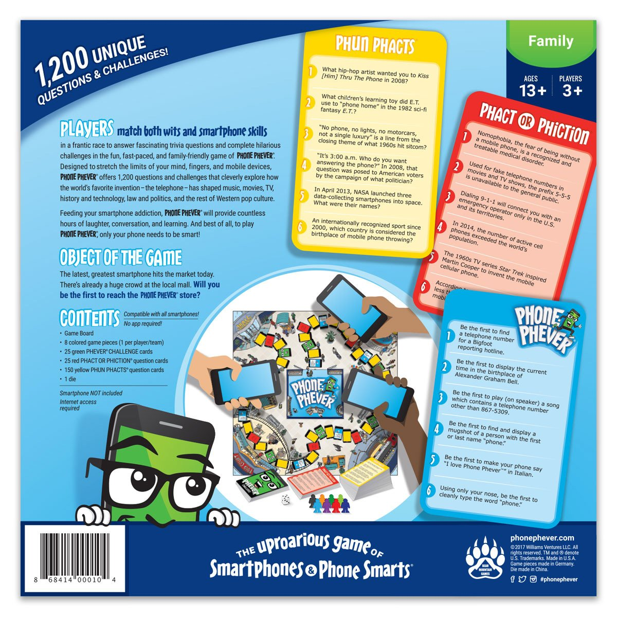 mamas on magic 107 9 at what age should kids cell how can i get a phone Amazon.com: Phone Phever Board Game - Best New Fun Fast-Paced  Family-Friendly Party Board Game - Itu0027s a Phonetastic Race to Answer  Fascinating Trivia ...