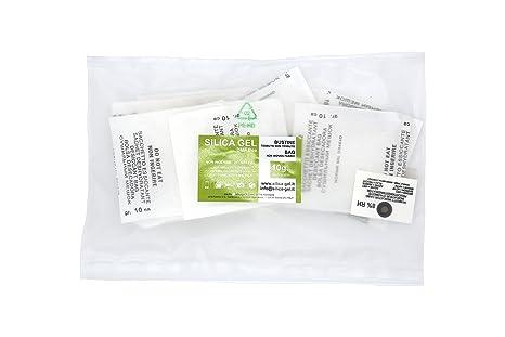 2a171eb56 Disidry Silicagel - 20 bustine essiccanti disidratanti 10 grammi silica gel  (desiccant, gel di