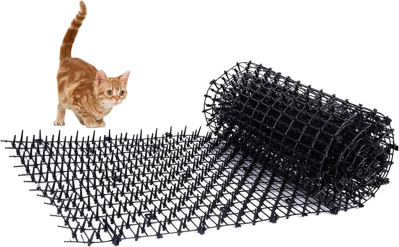 Super-Garden Esterilla para Gato con Pinchos de jardín, Tira ...