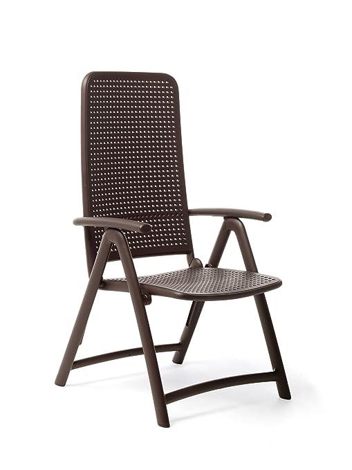 Darsena al aire libre plegable silla de jardín: Amazon.es ...