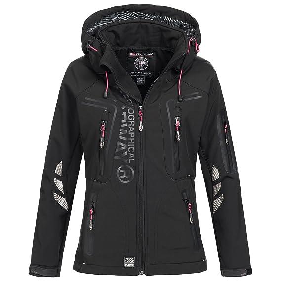 Geographical Norway Vaasai Lady Chaqueta Funcional al Aire Libre para Mujer Softshell Jacket: Amazon.es: Ropa y accesorios