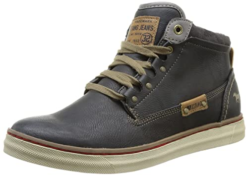 Mustang High Top Sneaker - Zapatillas altas para hombre, Grau (259 graphit), 44: Amazon.es: Zapatos y complementos