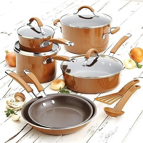 Amazon.com: Juego de utensilios de cocina. Mejor 12 piezas ...