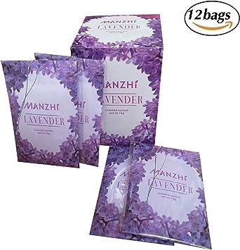 JTHM Pack de 12 Bolsas Anti-polillas de Todos los Naturales Lavanda para armarios cajones o Lavabo: Amazon.es: Hogar