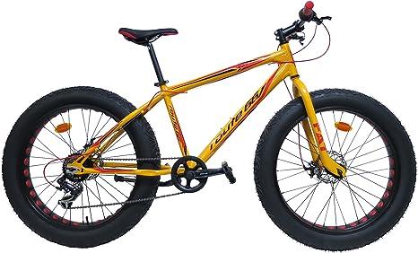 Bicicleta Route 66 Fat Bike de Aluminio: Amazon.es: Deportes y aire ...