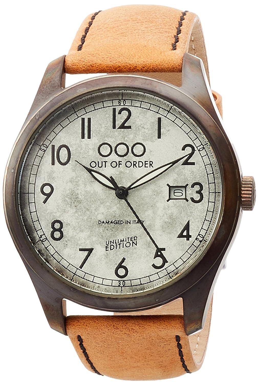[アウトオブオーダー]Out Of Order 腕時計 SCARABEO 40mm イタリア製 001-9.AR 【正規輸入品】 B071LFLVYW