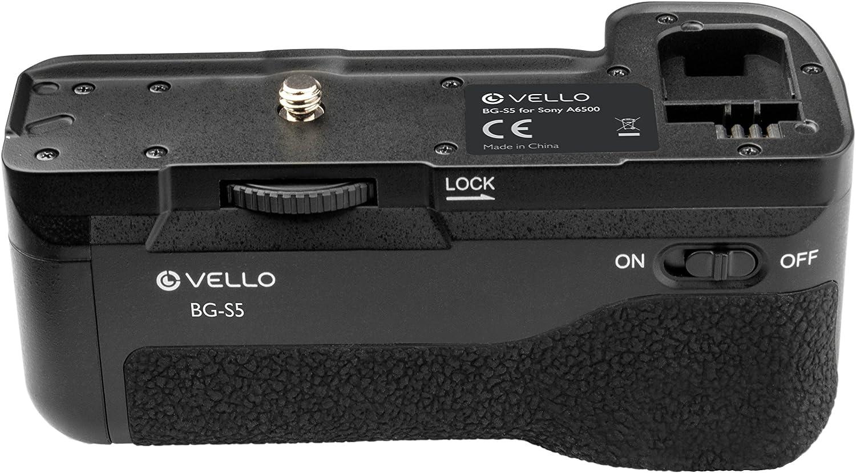 Vello BG-S5 Battery Grip for Sony Alpha a6500