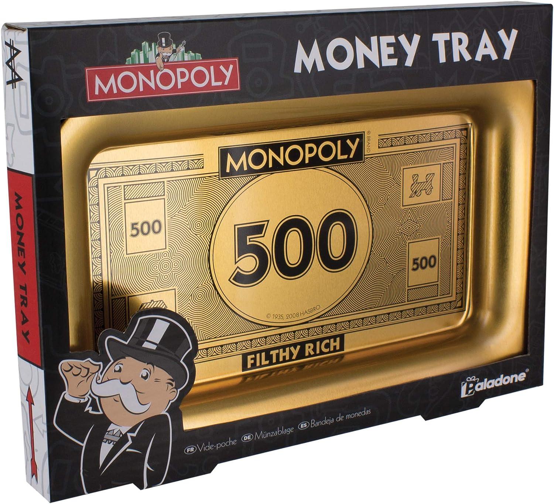 Monopolio Filthy Rich Dinero bandeja: Amazon.es: Oficina y papelería