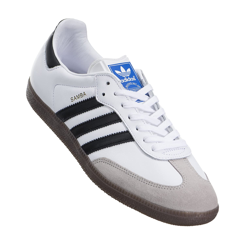 new concept d1abd 90be6 Amazon.com  adidas Men Samba OG (Whitecore BlackGum)  Fashion Sneakers