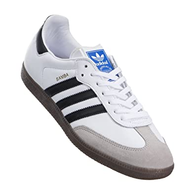 55383ef4c Amazon.com | adidas Men Samba OG (White/core Black/Gum) | Fashion Sneakers