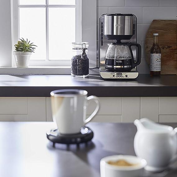 Mr. Coffee MWBLK Calentador de Taza: Amazon.com.mx: Hogar y Cocina