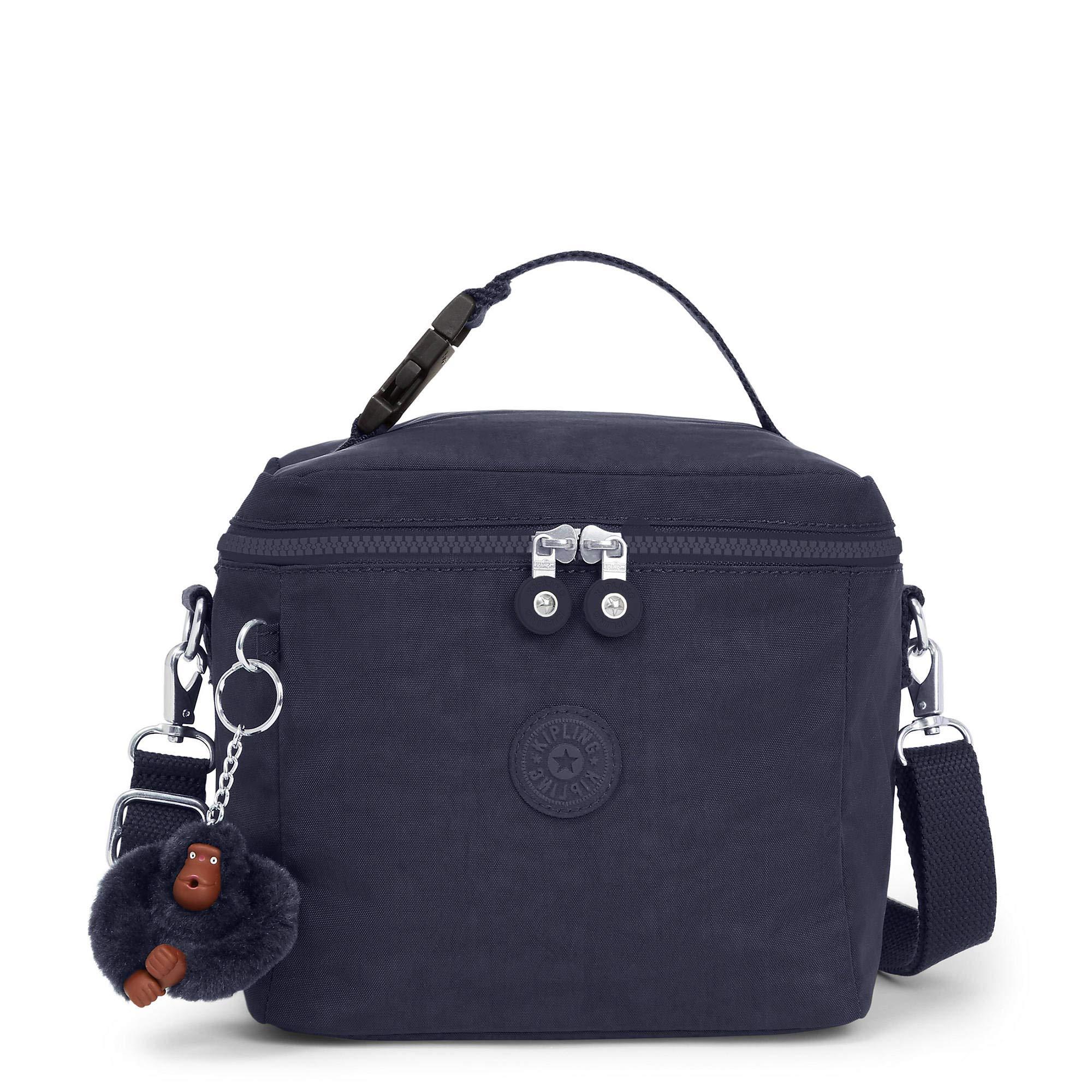 Kipling Graham Lunch Bag True Blue Tonal
