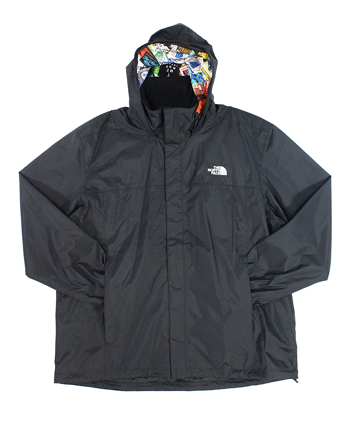 The North Face Resolve 2 メンズジャケット B01HQSXOS8 X-Large|Tnf Black/Multi Sticker Bomb Print Tnf Black/Multi Sticker Bomb Print X-Large