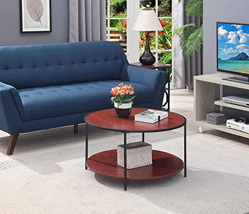 Convenience Concepts Tucson Metal Round Coffee Table