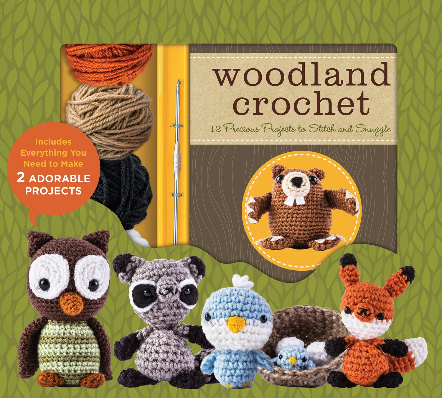 Woodland Crochet By Kristen Rask 9781435153974 Amazon Books