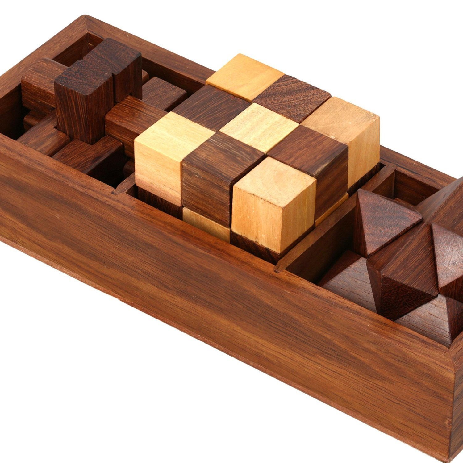 RGrandsons Handmade Wooden Puzzle for Adult Snake Cube Handmade Gifts India  Unique Gifts for Kids and Adult