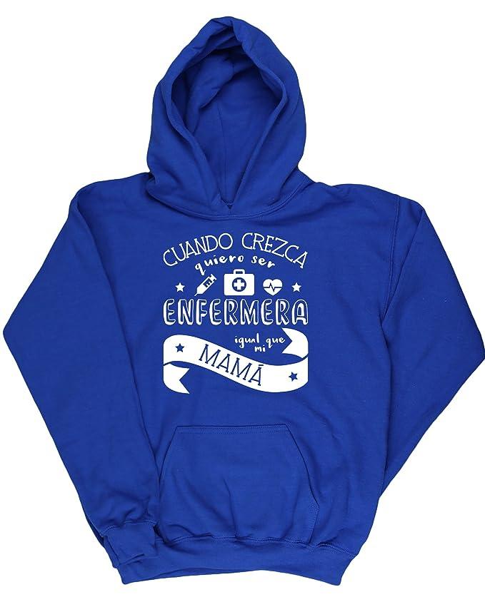 HippoWarehouse Cuando Crezca Quiero Ser Enfermera Igual Que Mi Mamá jersey sudadera suéter derportiva unisex niños niñas: Amazon.es: Ropa y accesorios