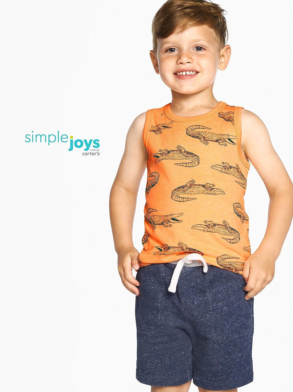 Simple Joys by Carters Baby und Kleinkind Jungen 3er-Pack Strick Shorts