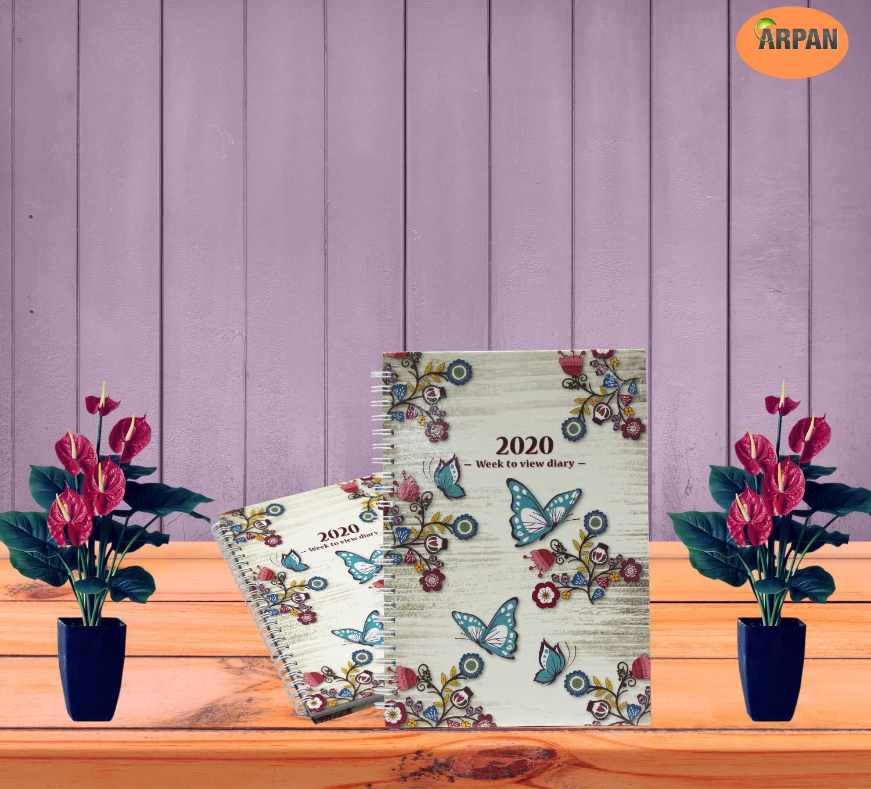 Amazon.com: Arpan - Agenda semanal de 2020, A5, diseño ...