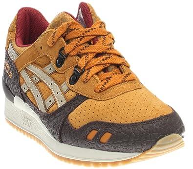 sale retailer d4b51 48ef8 ASICS Mens Gel-Lyte III Suede Low Top Casual Shoes