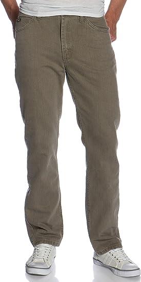 Lee Men's Regular Fit Straight Leg Jean, Tarmac, 35W x 30L
