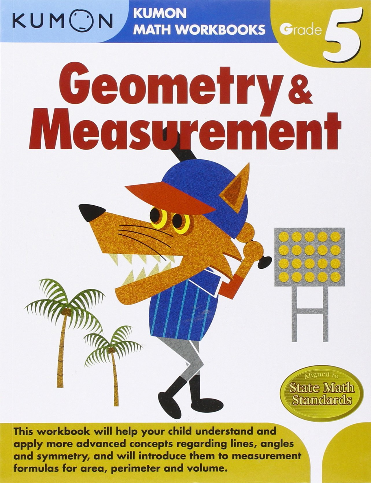 Geometry Measurement Kumon Math Workbooks Grade 5 Kumon