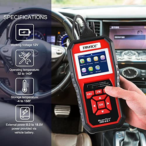 Having a reliable OBD2 scanner is all a car owners or DIYers' dream and TryAce SR950 OBD2 Scan Tool will help you all.