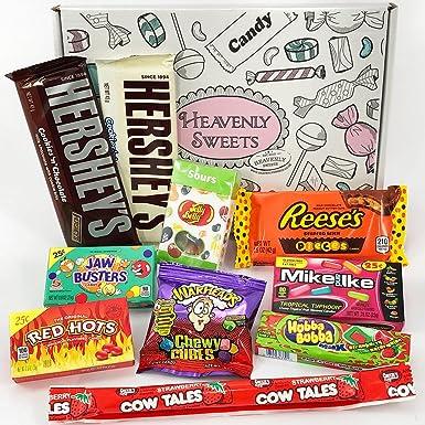 Mini caja de American Candy | Golosinas y barra de chocolate de ...