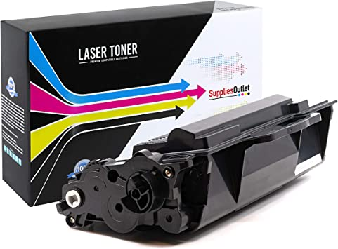 Black,4 Pack SuppliesOutlet Compatible Toner Cartridge Replacement for Brother TN850 TN-850