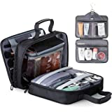 Lizzton Hanging Toiletry Bag for Women Large Travel Cosmetic Bags Accessories Kit Waterproof Makeup Organizer