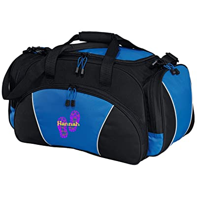 Personalized Flip Flop Metro Duffel Gym and Travel Bag