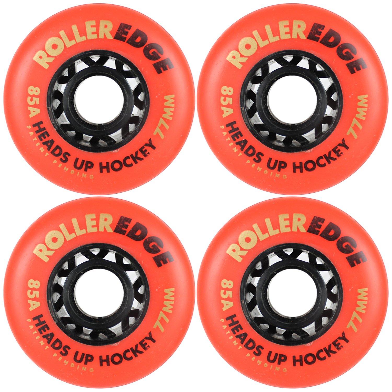 ローラーエッジインラインスケートホイールHeads Up Hockey 77 mm 85 Aセットof 4