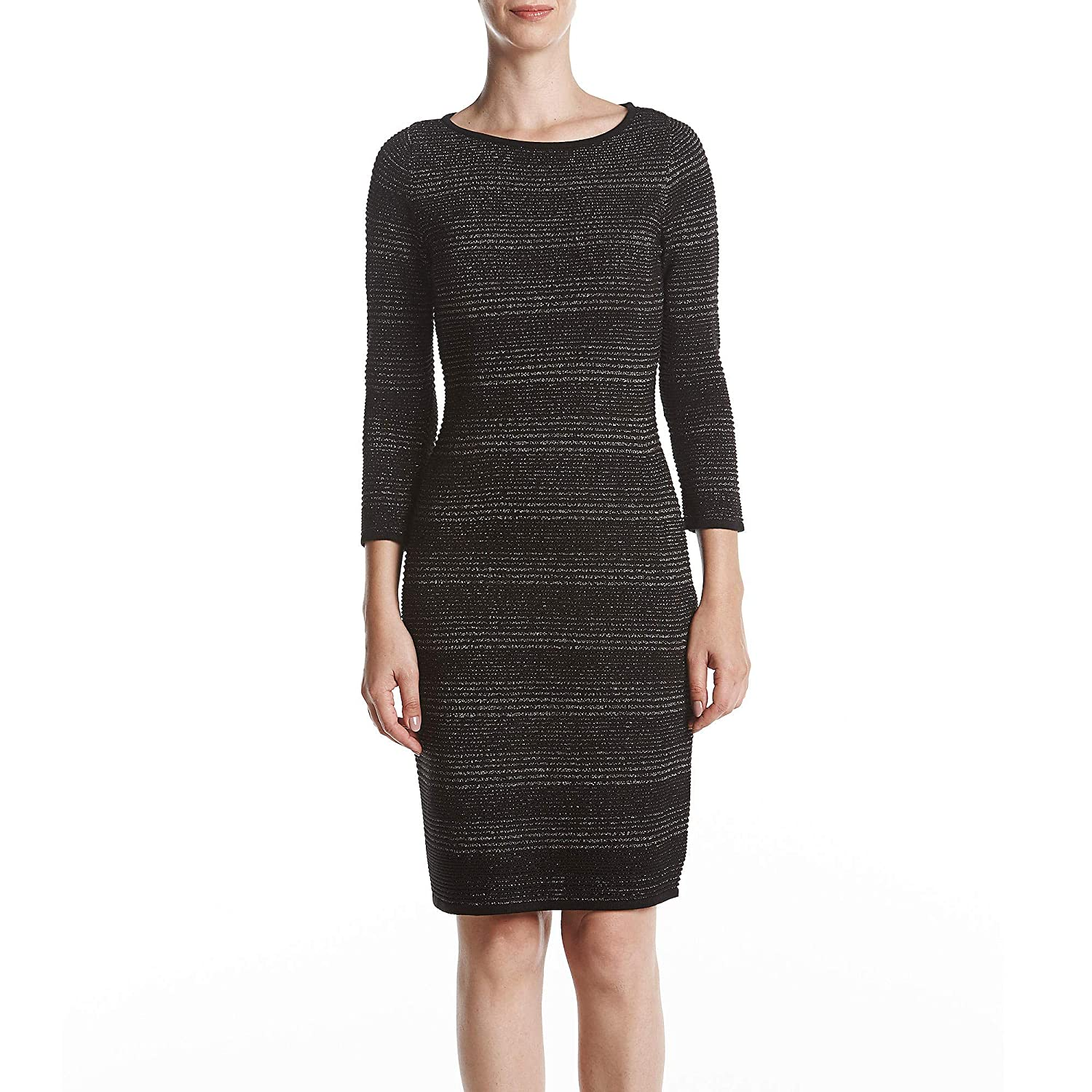 5cb1da4a Calvin Klein Womens Knit 3/4 Sleeves Sweaterdress at Amazon Women's  Clothing store: