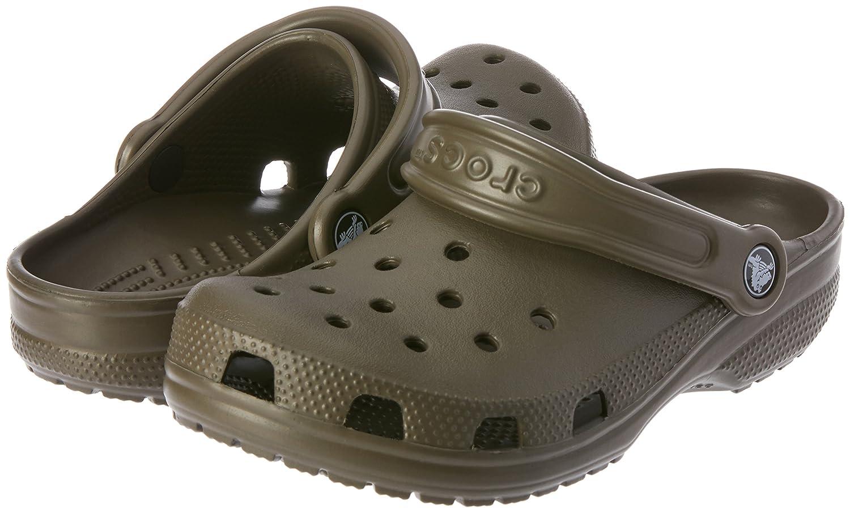 442c11cc65d5e Amazon.com | Crocs Unisex Classic Clog Chocolate 6 D(M) US | Mules & Clogs