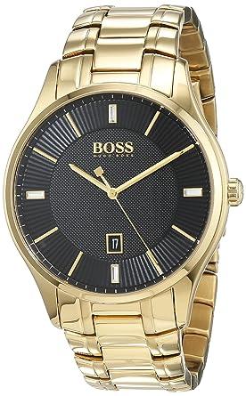 9c9fcb8654 Hugo Boss Homme Analogique Classique Quartz Montres bracelet avec bracelet  en Acier Inoxydable - 1513521