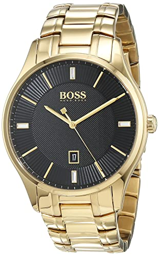 2bb7bff67dc8 Hugo BOSS Mens Analogue Classic Quartz Watch with Stainless Steel Strap  1513521  Amazon.co.uk  Watches