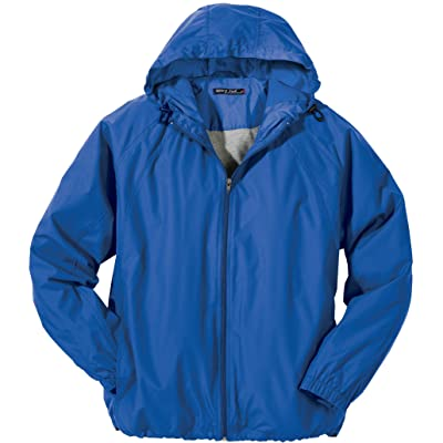 Sport-Tek Full-Zip Hooded Jacket, 6XL, True Royal