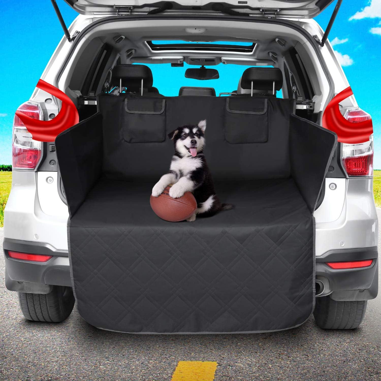 femor Kofferraumschutz f/ür Hund Kofferraumschutzdecke kofferaumschutzmatte Hunde Universal kofferraummatte Hundedecke Auto Autoschondecke f/ür R/ückbank hundedecke Kofferraum wasserdicht rutschfest